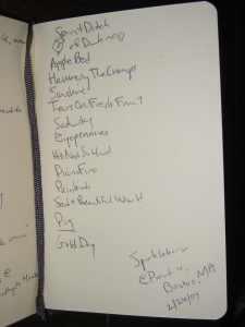 Sparklehorse setlist