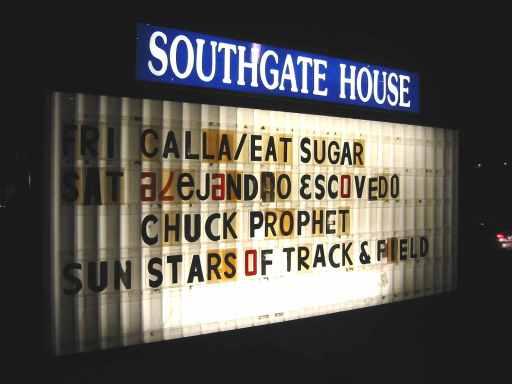 Alejandro Escovedo @ the Southgate House (3/10/07)