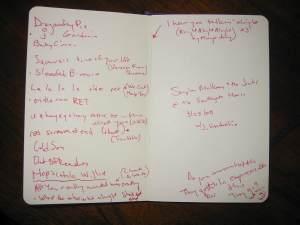 Stephen Malkmus setlist (real)