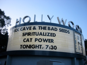 The Hollywood Bowl Marquee