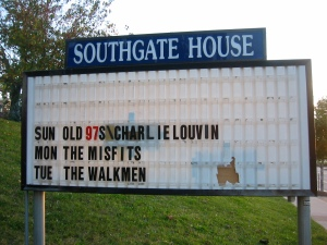 Old 97's marquee