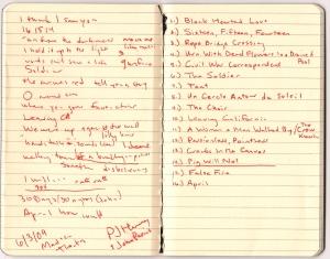 PJ Harvey setlist