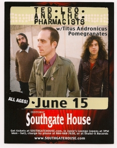 Ted Leo flyer