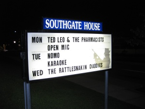 Ted Leo marquee