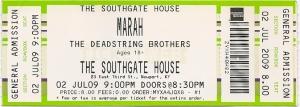 Marah ticket