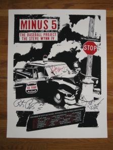 Minus 5 poster