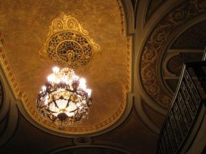 Paramount Theatre chandelier