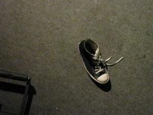 Scott McCaughey's shoe
