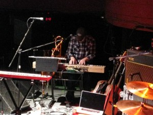 John Grant plays bi-polar electronics.