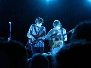 Kings of Convenience are blue.