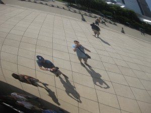 "The artist saddled it with the pretentious title of ""Cloud Gate""."