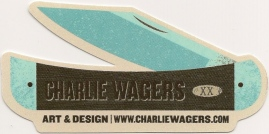charlie wagers sticker