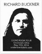 richard buckner living room tour flyer