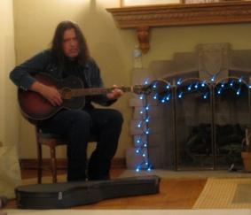blurry richard buckner in my house