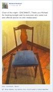richard buckner's chair of the night