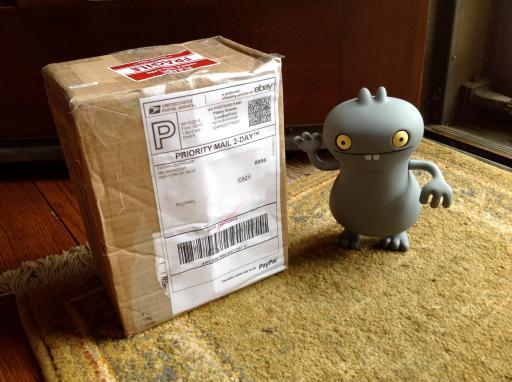 vinyl babo gets a box