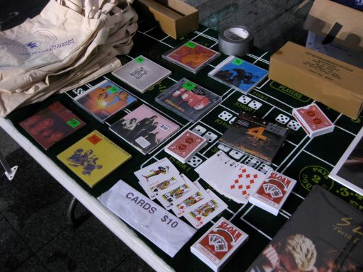sloan merch table