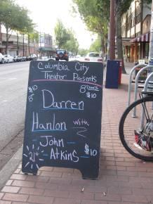 darren hanlon chalk sign