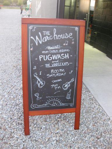 chalk sidewalk sign