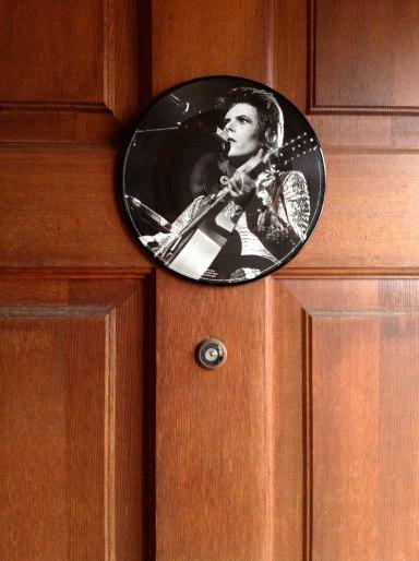 david bowie door