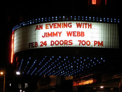 jimmy webb marquee