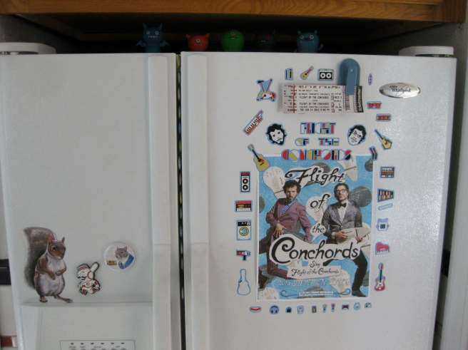 flight of the conchords magnets