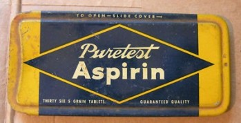 puretest aspirin