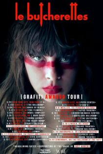 le butcherettes tour flyer
