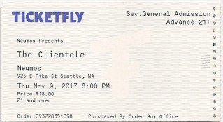clientele ticket