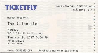 clientele ticket