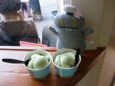 sailor babo and the legendary cucumber mint sorbet